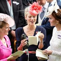 Lady Laura Meade, Zoe Warren and the Duchess of Cambridge