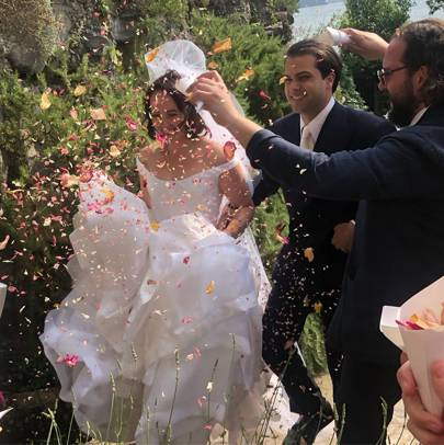 The wedding of Phoebe Saatchi and Arthur Yates in Lake Como, June 2019