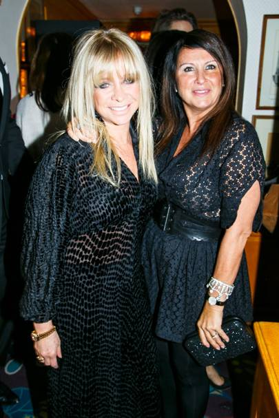 Jo Wood and Fran Cutler