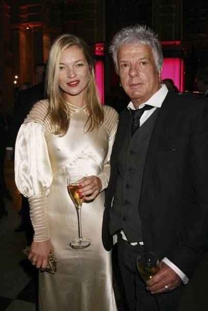 Nicky and Kate Moss in 2007