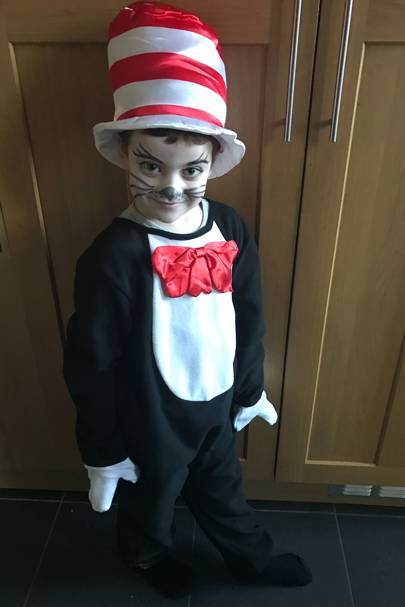 Archie Burborough as the Cat in the Hat