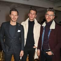 Paul Sculfor, Josh Parkinson and Darren Kennedy