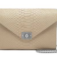 Leather bag, £1,200, by Mulberry
