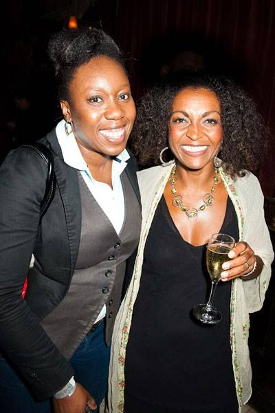 Chizzy Akudolu and Adjoa Andoh