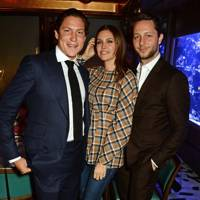 Vito Schnabel, Dasha Zhukova and Derek Blasberg