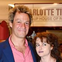 Dominic West and Helena Bonham Carter