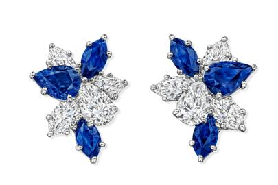 Harry Winston – cluster diamonds