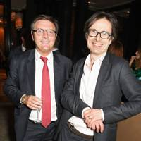 Darryl Eales and Robert Peston