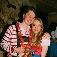 Charlie Slater and Emily de Salis