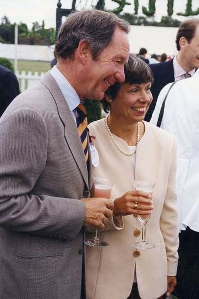 Michael Buerk and Mrs Michael Buerk