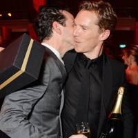 Andrew Scott and Benedict Cumberbatch