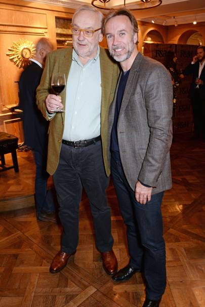 Pierre Koffmann and Marcus Wareing