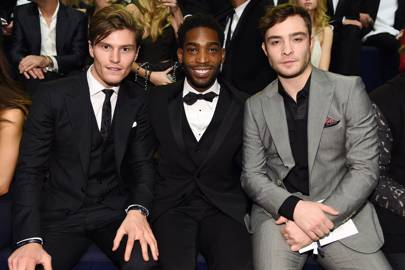 Oliver Cheshire, Tinie Tempah and Ed Westwick