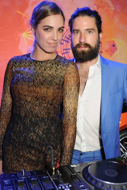 Amber Le Bon and Jack Guinness