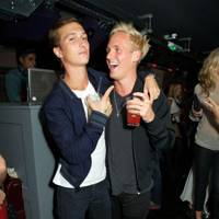 Alexis Stellakis and Jamie Laing