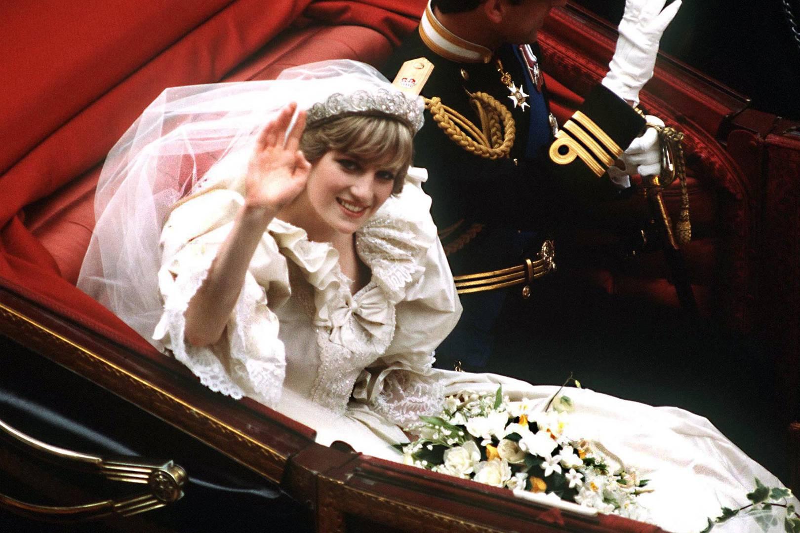 Princess S Diana S Wedding Day Tiara Details Tatler