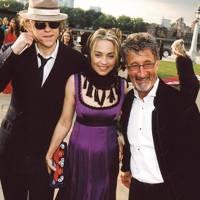 Bob Geldof, Jeanne Marine and Eddie Jordan
