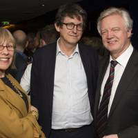 Lindsay Mackie, Alan Rusbridger and David Davis