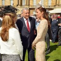 The Duchess of Cambridge and Martin Gore