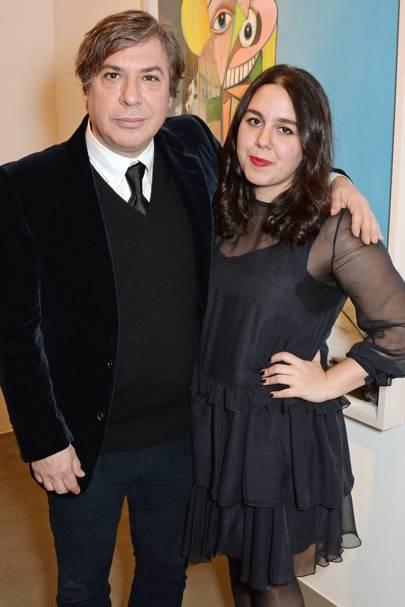 George Condo and Eleanore Condo
