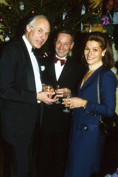 John Hickman, Jeremy Denholm and Mrs Hugh Taylor
