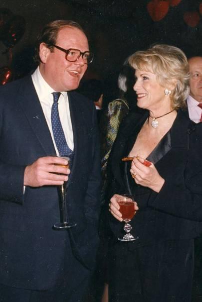 The Hon Jeremy Soames and Mrs Rupert Hambro