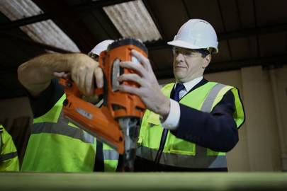 'I think I am going to need some help with this, Frances normally does the power tools.'