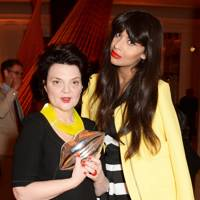 Lulu Guinness and Jameela Jamil