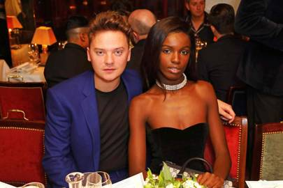 Conor Maynard and Leomie Anderson