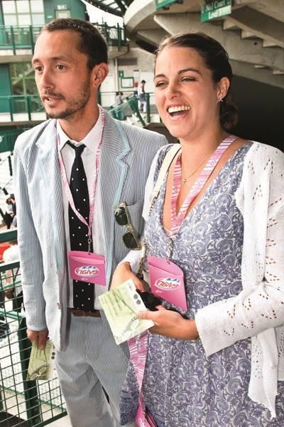 Viscount Macmillan and Lady Rebecca Macmillan