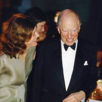 Dr Sigrid Rausing and Lord Rothschild