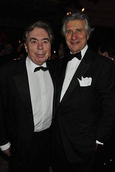 Lord Lloyd-Webber and Arnaud Bamberger