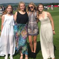 Sophie Moorhouse, Bella Moorhouse, Imogen Levy and Tilly Moorhouse