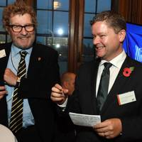 Sebastian Faulks and Dr Christopher McCormick