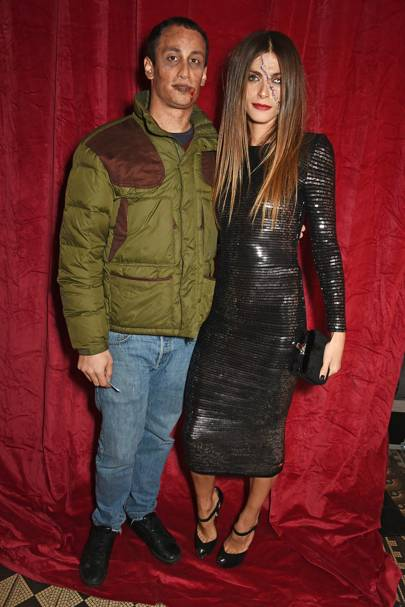 Alex Dellal and Elisa Sednaoui