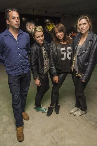 John Lycett Green, Jaime Winstone, Willa Keswick and Emily Ann Sonnet