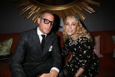 Lapo Elkann and Franca Sozzani
