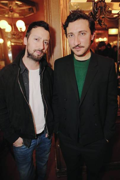 Anthony Vaccarello and Marco de Vincenzo