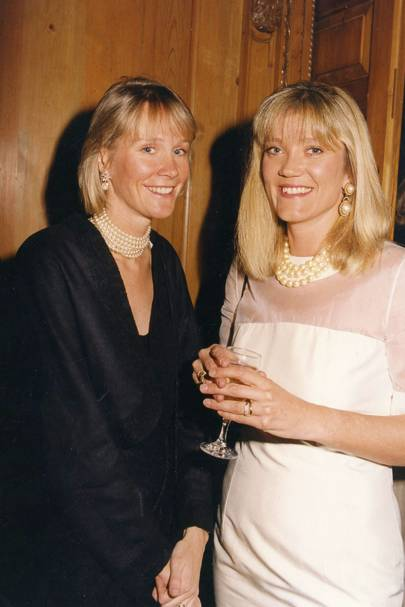 The Duchess of Roxburghe and Mrs David Forbes