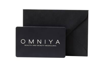 A voucher for a 90-minute signature facial at OMNIYA