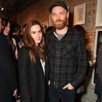 Chloe Lee Evans and Jonny Buckland