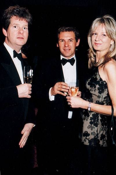 Guy Sangster, Charles Gordon Watson and Mrs Guy Sangster
