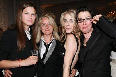 Eden Clark, Emma Kennedy, Jacynta Mirmikidis and Sue Perkins