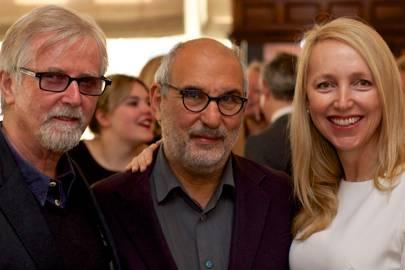 Franc Roddam, Alan Yentob and Caryn Tomlinson