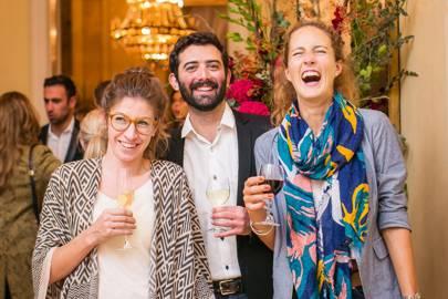 Maria Luz Martinez Sola, Nicolas Daher and Justina Bertuch