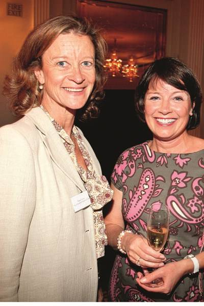 Diana Vernon and Mary Breen