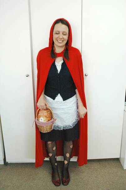 Katharina Hahn as Little Dead Riding Hood