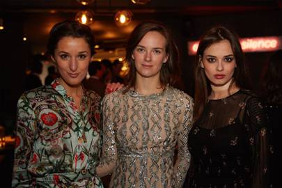Rosanna Falconer, Charlotte Carroll and Elif Aksu