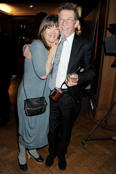 Ann and John Hurt