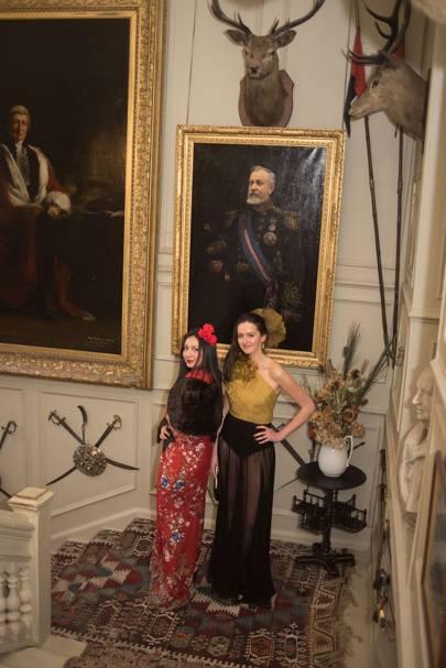 Cecilia Bell and Anoushka Rowland Payne